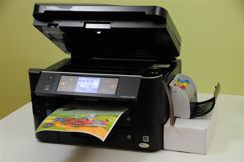 Xpro V Series Continuous Ink System Epson Workforce Wf