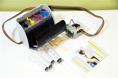 Continuous Ink System For Epson Xp 320 Xp 420 Xp 424 Cis