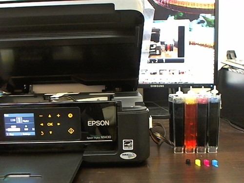 Continuous Ink System For Epson Nx330 Cis Ciss Arc