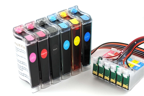 Continuous Ink Supply System Ciss For Epson Artisan 50