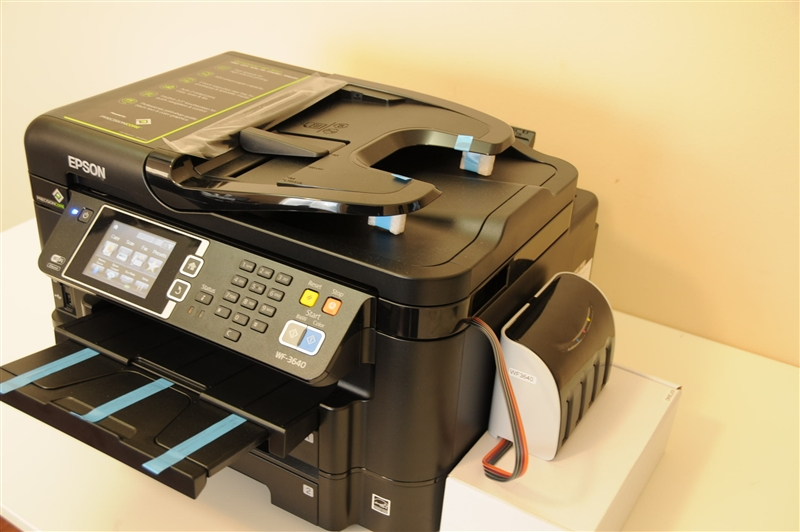 Continuous Ink System Epson Workforce Wf 3620 Epson