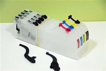 Refillable ink cartridge LC203 for Brother printer