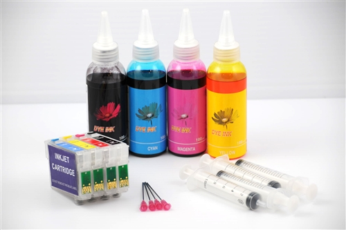 Refillable Ink Cartridges For Epson Expression Xp 200 Xp 300 Xp 400