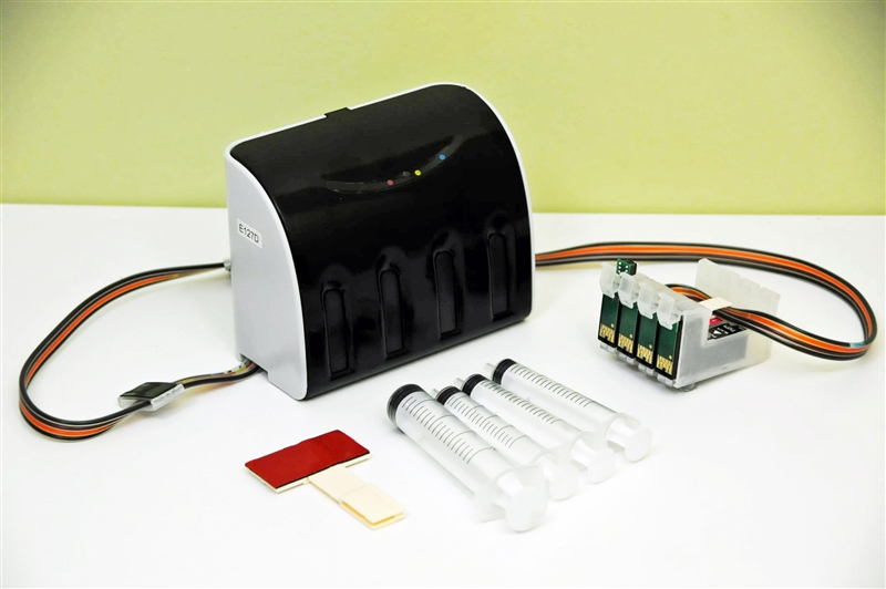 X-Pro Series Continuous Ink System for EPSON Workforce WF-3520 WF-3530  WF-3540