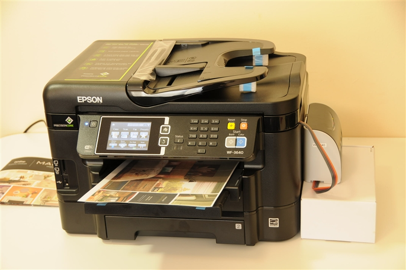 Pigment Ink Continuous Ink System Epson Workforce Wf 7110