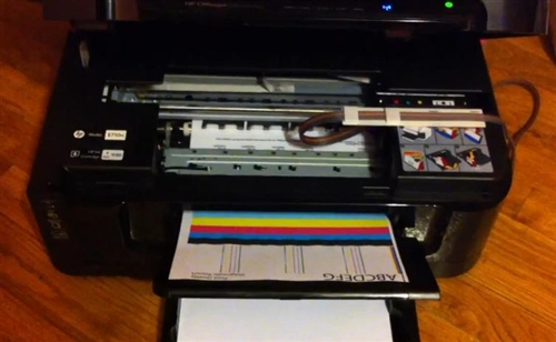 Continuous Ink System Cis Hp Photosmart B209 All In One