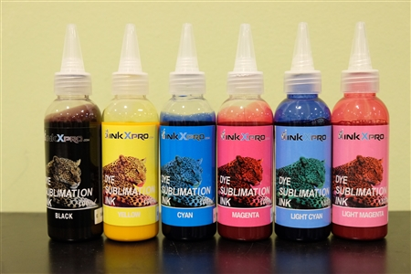 100ml single bottle 6 color Dye Sublimation ink for Epson printers