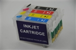 Refillable Ink Cartridge for Epson Workforce 435