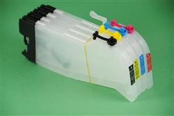 Refillable ink cartridges LC61 for Brother printer