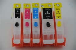 Refillable Ink Cartridge for Canon IP4200