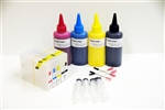 Refillable ink Cartridges with ARC for Canon MAXIFY MB5320 MB5020 iB4020 Inkjet Printers