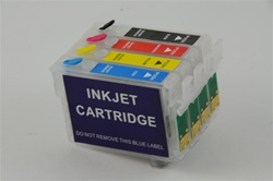 Refillable Cartridges for Epson Stylus NX400 NX300 NX200 NX100 NX115 NX215 NX210 Printers