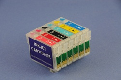 Refillable Ink Cartridge for Epson 800 600