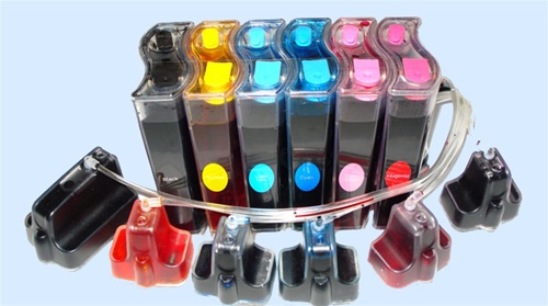 This Continuous Ink System Is Designed For Hp Photosmart