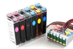Continuous ink system for Epson Artisan 600 700 710 810 835 printer