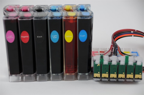 Continuous Ink Supply System Ciss For Epson Artisan 600