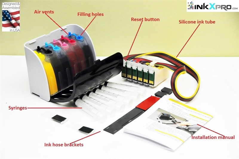 Xpro Series Continuous Ink System Ciss Epson Artisan 1430