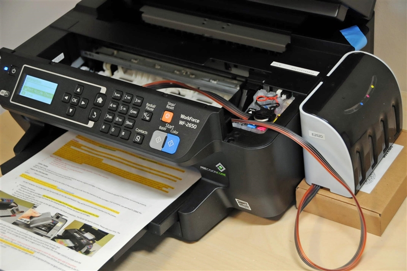 X-Pro Series Continuous Ink System for EPSON Workforce WF-2630