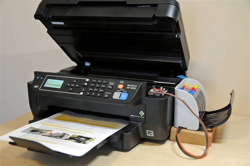 Continuous Ink System For Epson Workforce Workforce Wf