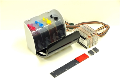This continuous ink supply system CISS is designed for  HP Officejet 7110 7610 7612 e-All-in-One printers