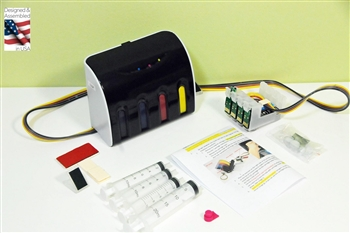 Sublimation Continuous Ink System Epson Workforce WF-3520, Epson workforce WF-3540 CIS CISS with ARC chip
