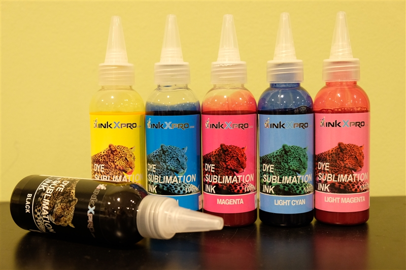 Inkxpro Brand 600ml Professional Dye Sublimation Ink For