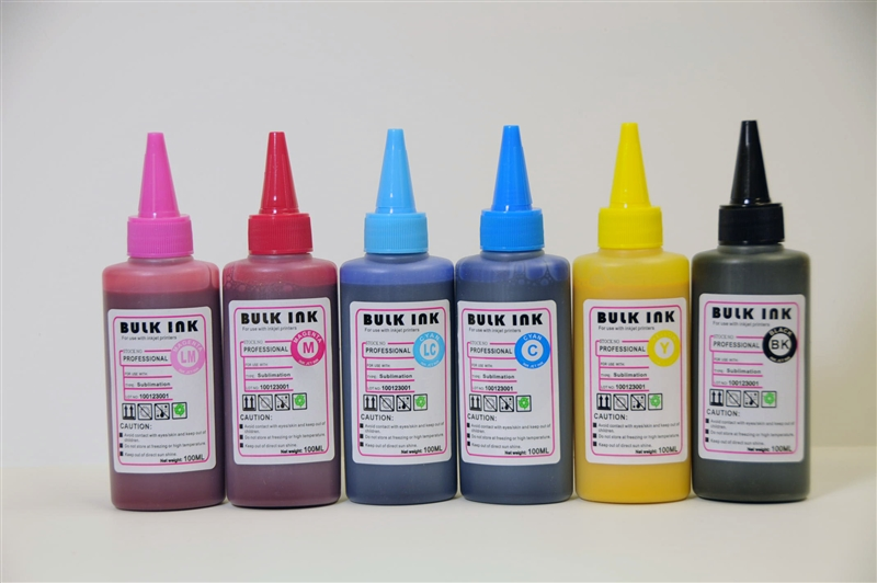 6 color Dye Sublimation ink for Epson printer